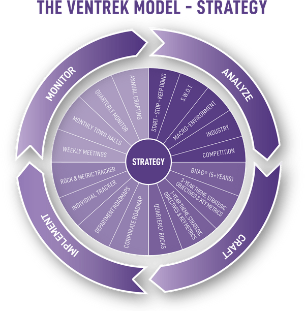 The Ventrek Model - Strategy